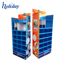 Cardboard Garment Shelf Retail Clothes Display Rack