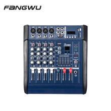 China Manufacturer 4 Channel 402D USB BT Power Amplifier Mixer