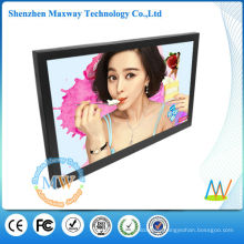 Slim frame wall mount LCD digital frame 32 inches