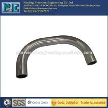 Custom metal machining handle,bending aluminium 6061 T6 handle