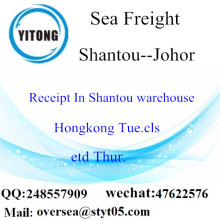 Shantou Port LCL Consolidation To Johor