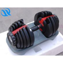 Fitness gummierte neue Produkte verstellbare Hantel