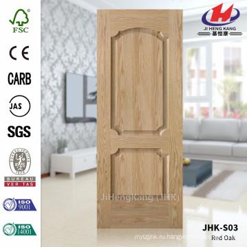 JHK-S03 Китай Массовое производство Оптовая Дуб шпоном дверь кожи