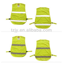 YELLOW high visibility Low-elastic yarn 5cm tape reflective security vest