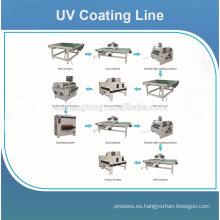 Precio de máquina de revestimiento UV para suelo de madera