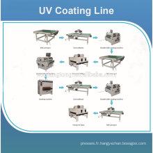 Prix de la machine de revêtement UV pour le plancher de bois