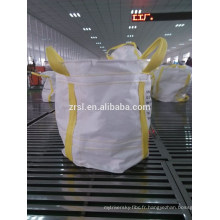 Sac grand de 1-2 tonnes pp / sac circulaire de FIBC (pour le sable, le matériel de construction, le produit chimique, l'engrais, etc.) hdzrsl 16