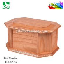 good quality chinese solid wood cremation urns