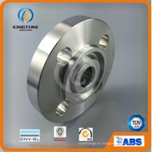 ASTM B16.5 forgée bride de cou de soudure d'acier inoxydable rf (kt0342)