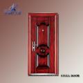 Sicherheitstür Design mit Grill-Yf-S108