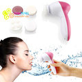 5-1 Multifunction Electric Face Facial Cleansing Brush Spa Skin Care massage