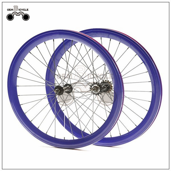 650C 45mm fix double-walled aluminum wheelset2