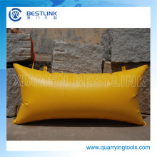 Factory Made Polymer Stone Block Pushing Air Bag