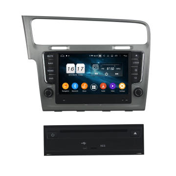Android systeem auto dvd gps voor Golf 7