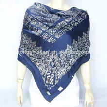 silk shawl for autumn promotion