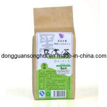 Paquete de papel de Kraft empaquetado / bolso de té sano / bolsa de té plástico
