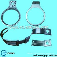 piezas de auriculares de aleación de aluminio de fabricación de OEM piezas de fundición de precisión
