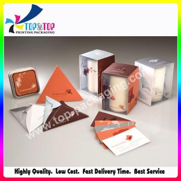 Pantone Color Printing Window Packaging Bougies