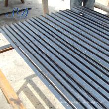 Borne de madeira dado forma y da cerca da fonte de China do metal para o mercado de Austrália