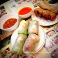 Rice paper for spring roll and salad roll.