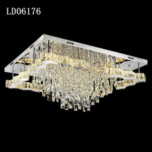 China Manufacturer for Crystal Ceiling Light Factory outlet K9 crystal affordable modern lighting supply to Indonesia Suppliers