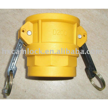 NY-glass camlock coupling type D