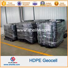 Géocellules en plastique HDPE pour le mur de soutènement
