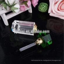 Botella de perfume de cristal de encargo de la marca hermosa al por mayor hermosa para el regalo de boda