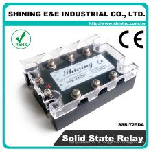 SSR-T25DA CE Aprovado DC para AC 3 Fase 25A Relé de estado sólido