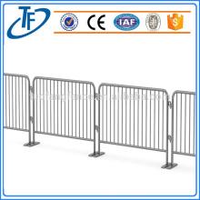 Heißer Verkauf preiswerter galvanisierter beweglicher temporärer Zaun