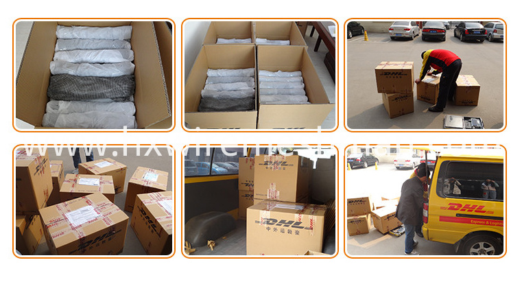 metallic cloth packing