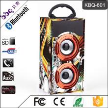 Барбекю КБК-601 10Вт 600мач деревянный портативный диктор