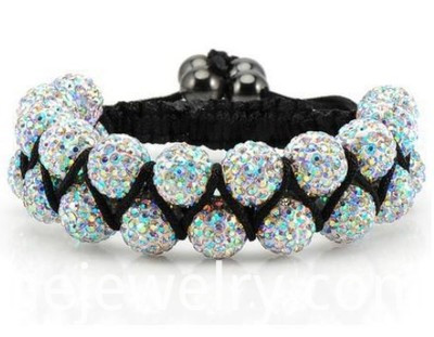 AB Colorful Shamballa Jewels