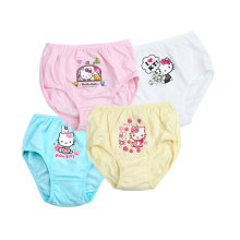 Hello Kitty 100 ropa interior de las muchachas respirables de las bragas de las muchachas del algodón