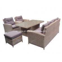 Patio Wicker Garden Sofa Lounge Set Outdoor Rattan Furniture