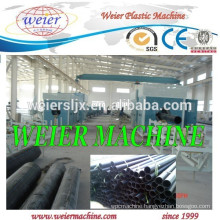 Plastic HDPE pipe production line