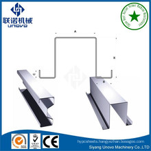 Omega galvanized steel cold rolled profiles