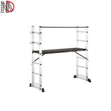 6*2 steps ladder scaffolding ladder aluminium with CE EN131 certificate