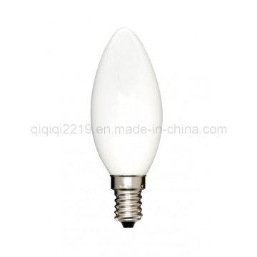 3.5W C35 Opal White E14 220V Decorete Light LED Filament Bulb