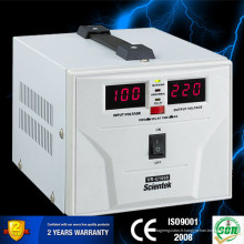 SCIENTEK Stabilisateur de tension à pleine portée 1000VA 600W avec affichage numérique