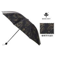 Kriegshäuptling 25 Zoll wasserdicht winddicht Folding Umbrella in Camo