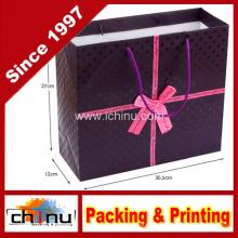 Bolsa de papel de arte / bolsa de papel blanco / bolsa de regalo de papel (2211)