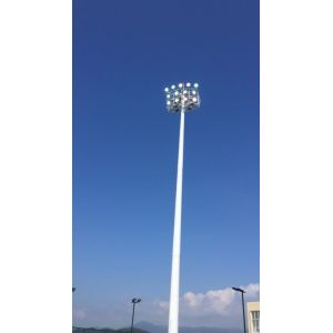 25 Meters Floodlight Columns For Lighting