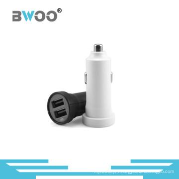 Usine en gros deux ports USB chargeur de voiture 5V2.4A
