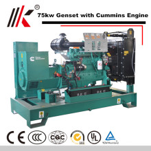 Poder de preço de fábrica 80kw levando gerador diesel venda de peças geradores na tunísia