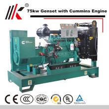 Цена завода мощность 80квт ведущих тепловозный генератор разделяет продажу генераторов в Тунис