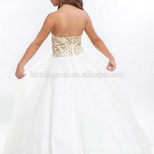 Neue Mode Kleid Designs Off-Schulter ärmellose 11,12,13,14 Jahre alte neue Modell Mädchen Kleid 2017