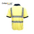 Quick Dry Yellow Reflective Security Uniform Polo