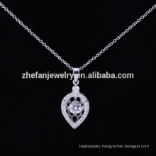 Good Quality Wedding Gold Necklace Designs 925 Silver Pendant,German Silver Pendant,beautiful gold Necklace Designs for sale