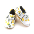 OEM Superb Service Printing Fruit Pattern Moccasins
